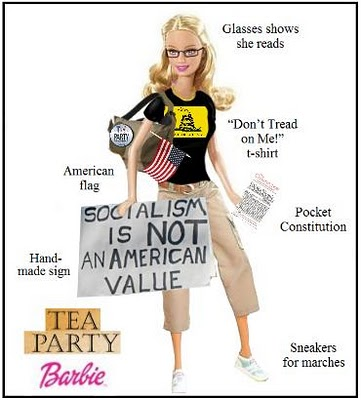 Tea Party Barbie