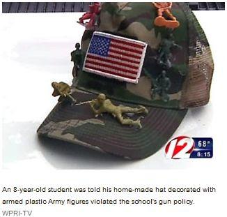 Cap with Army Guns